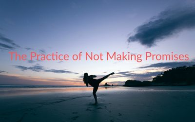 The Practice of Not Making Promises