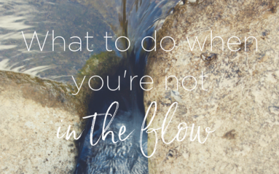 What To Do When You're Not in the Flow